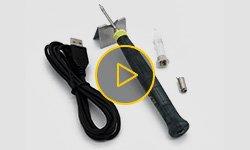 Видеообзор USB-паяльника Sunshine SL-58U