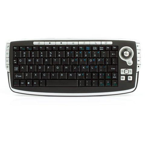Безпровідна міні клавіатура з трекболом 2,4 ГГц