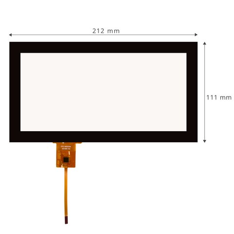 Capacitive Touch Screen for Audi Q7