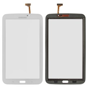 Touchscreen for Samsung P3200 Galaxy Tab3, P3210 Galaxy Tab 3, T210, T2100 Galaxy Tab 3, T2110 Galaxy Tab 3 Tablets, (white, (version Wi-fi))