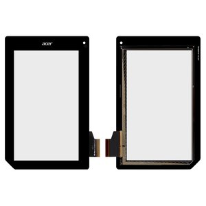 Touchscreen for Acer Iconia Tab B1-A71 Tablet, (black) #MCF-070-0899-FPC-V1.0