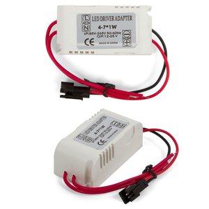 4-7 W LED Lamp Driver in Housing (galvanic isolation, 85-265 V)