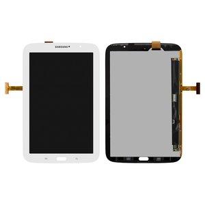 Pantalla LCD para tablet PC Samsung N5100 Galaxy Note 8.0 , N5110 Galaxy Note 8.0 , (versión Wi-Fi), blanco, con cristal táctil
