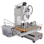 Máquina fresadora CNC de sobremesa de 5 ejes ChinaCNCzone HY-6040 (1500 W)