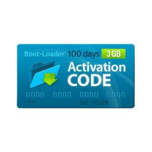 Активационный код Boot-Loader v2.0 (100 дней, 3 ГБ)