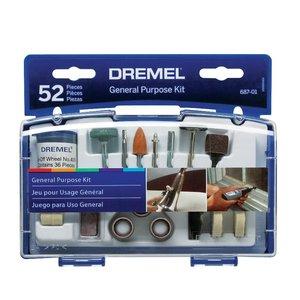 Набір аксесуарів Dremel 687