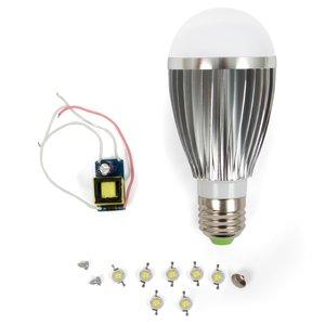 Комплект для збирання LED-лампи SQ-Q03 E27 7 Вт – холодний білий