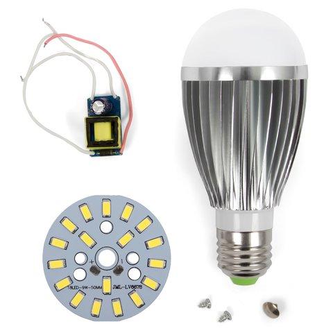Комплект для збирання світлодіодної лампи SQ Q03 9 Вт холодний білий, E27 , регулювання яскравості димірування