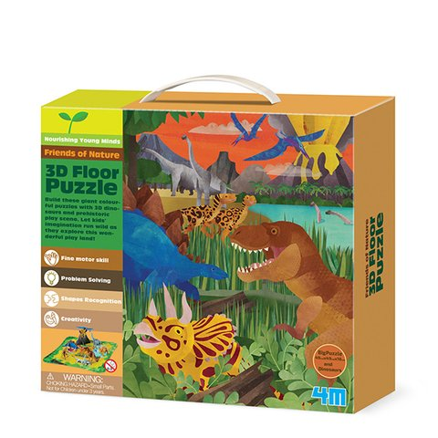 3D-пазл 4M Динозаври 00-04668