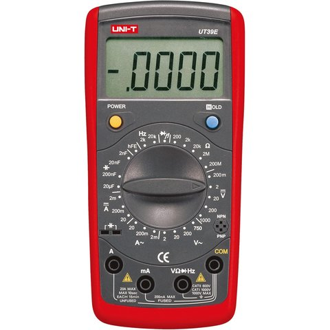 Digital Multimeter UNI T UT39E