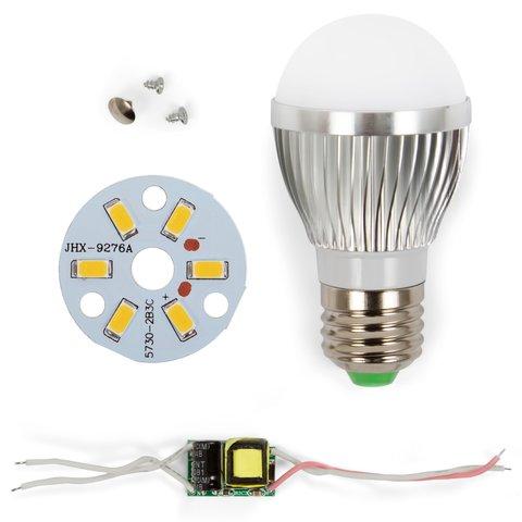 LED Light Bulb DIY Kit SQ Q01 5730 3 W warm white, E27 , Dimmable