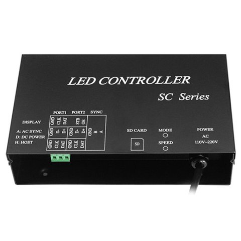 LED Controller H807SC (for DMX Consoles)
